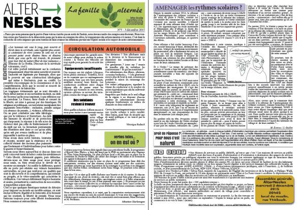 print feuille alternée n°3